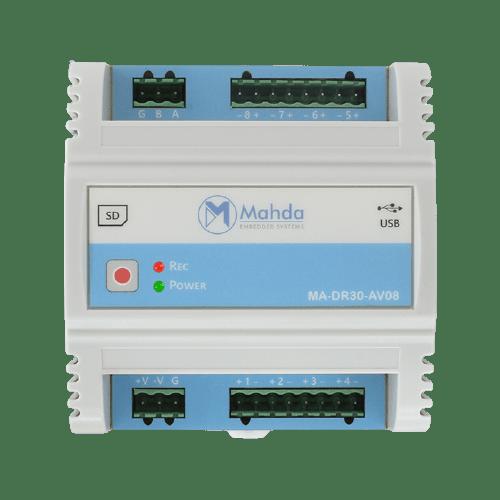 دیتالاگر با ارتباط USB و Modbus